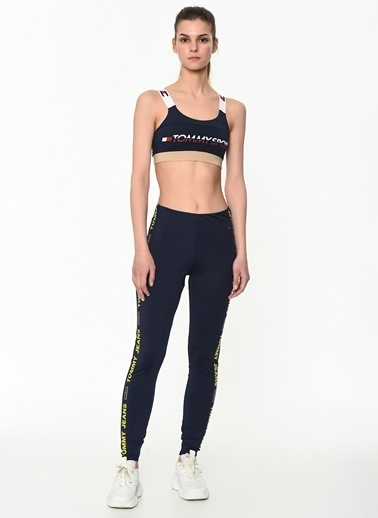 Tommy Hilfiger Kadın Sports Bra Low Logo Büstiyer S10S100199 Renkli